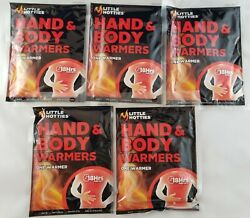 5 Little Hotties Hand and Body Warmers - EXP 072024 Up to 18 Hours of Pure Heat $2.99