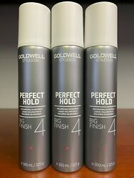 3 PACK - Goldwell Perfect Hold Big Finish 8.5 oz $40.00