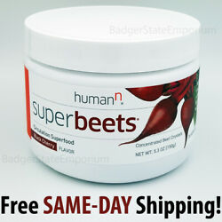 Super Beets Black Cherry Circulation Super-Food Humann SuperBeets 30Day Canister $33.90