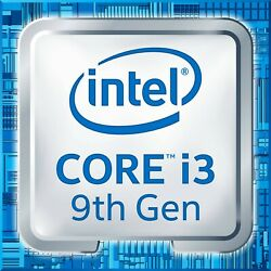 Intel 4-Core i3-9100 CPU 3.6GHz up to 4.2GHz 65W.   $88.75