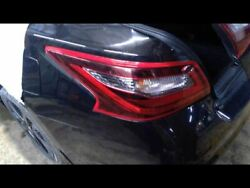 Driver Tail Light Quarter Panel Mounted Fits 16-17 ALTIMA 297645