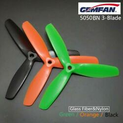 6 Pairs Gemfan Nylon 5050BN 3 Blades Propeller for RC DIY Quadcopter FPV Drone $15.29