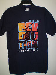 OAR Shirt Of A Revolution S SMALL Helicopter Silhouette NAVY BLUE Concert Tour $17.99