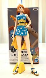 Banpresto One Piece Glitter Glamours Anime Figure Toy Nami Wanokuni BP16098 $29.99