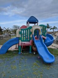 Little Tikes Play Ground Set with Two Slides Two Stairs $1,850.00