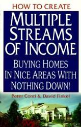 How to Create Multiple Streams of Income: Buying Homes in Nice Areas VERY GOOD $3.82
