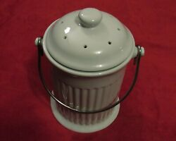 Ceramic Compost Crock quot;Composting Made Easyquot; from Gurney#x27;s catalog $25.00
