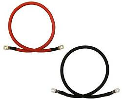 2 Gauge AWG Battery Cable Wire - Solar Marine Power Inverter Car Pure $31.99