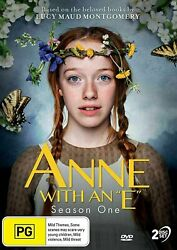 ANNE WITH AN E Season 1 (Region Free) DVD The Complete First Series One