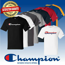 Original Champion Men#x27;s Classic Jersey Script T Shirt $24.99
