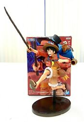 Banpresto One Piece Three Brothers Collectible Figure Toy Monkey D Luffy BP16139 $27.99