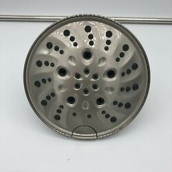 H2Okinetic 5-Setting Traditional Raincan Shower Head- Stainless Finish Brand New $50.00