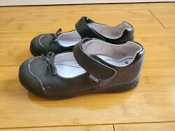 Pediped Becky Black Girls Size US1.5 2