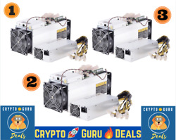 🔥Steal the Deal 🔥 3 Qty Antminer S9 + FREE 3 Qty Bitmain PSU🚀 FREE SHIPPING📦 $297.00