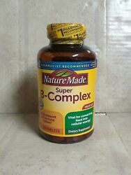 Nature Made Super B Complex with Vitamin C 360 Tablets EXP:01 2022 #7292 $13.80