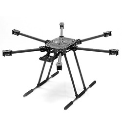 ZD850 850mm Compact Folding Hexacopter Drone Frame Kit Full Carbon Fiber $184.95