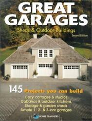 Great Garages Sheds & Outdoor Buildings 145 Designs Man Cave Idea She Shed Ideas