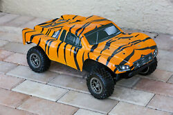 Custom Body Tiger Style for ARRMA Senton 4x4 3S / 6S BLX Cover Shell Slash $34.98