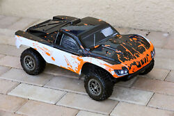 Custom Body Muddy Splash WB Orange for ARRMA Senton 4x4 3S / 6S BLX Cover Shell $34.98