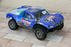 Custom Body Blue for ARRMA Senton 4x4 3S / 6S BLX Cover Shell Slash $34.98