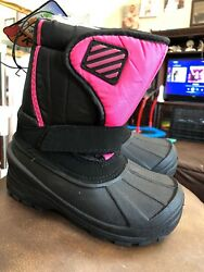 Kids Lined Rain Snow Boots Shoes New With Tags Size 12 Youth $25.99