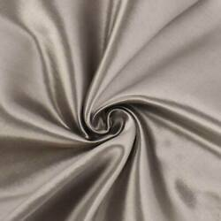 Taupe Brown Satin Home Decorating Fabric Fabric By The Yard $16.45