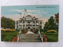 Cornelia Georgia Commercial Hotel Postcard Vintage View Old Card PC $3.00