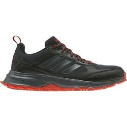 Mens Adidas Rockadia Trail 3 Wide Black Red Running Sport Shoe EG3485 10.5W-12W $54.99