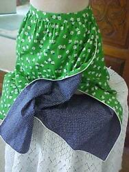 Vintage Reversible Wrap Around Skirt ~ Size 6 ~ Made in USA $9.99
