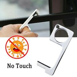 (2 PCS) No Touch   Door Handle Opener Key Chain Button Pusher  Same day shipping $8.99