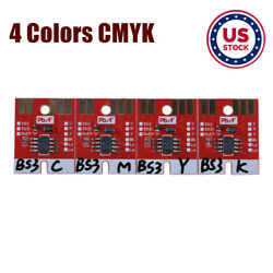 US Stock Chip Permanent for Mimaki JV33 BS3 Cartridge 4 Colors CMYK $59.22