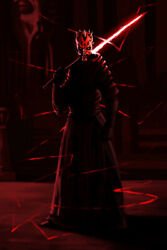 Star Wars Darth Maul Apprentice Dark Side Art Wall Room Poster POSTER 24x36 $18.99