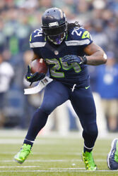 Marshawn Lynch Running Back Seattle Seahawks Art Wall Room Poster POSTER 24x36 $18.99