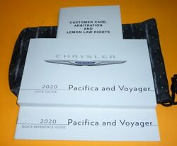 2020 CHRYSLER PACIFICA VOYAGER USER GUIDE OWNERS MANUAL wcase 20 LX TOURING $44.99