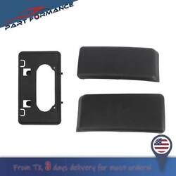Front Bumper Guards Pads amp; License Plate Frame Bracket For 2009 2014 Ford F150 $28.92