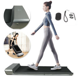A1 Smart Electric Foldable Walking Pad Treadmill Auto Speed Control LED Display $552.40
