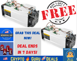 🔥 BUY 1 GET 1 FREE 🔥 Bitcoin Antminer S9 FREE SHIPPING BTC NO PSU Not S17 M20S $149.99
