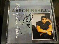Aaron Neville - The Grand Tour CD 1993 SIGNED $20.00