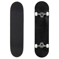 Cal 7 Stained Black 8quot; Complete Popsicle Skateboard $44.99