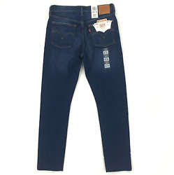 Levi#x27;s 501 Skinny in Song For Forever Distressed Destroyed Stretch Jeans 28 X 32 $45.00