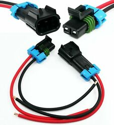 Delphi Metri-Pack 2-Pin 280 Series Male & Female Connector Multi-Purpose Pigtail $11.99