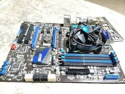 MSI MOTHERBOARD MS 7681 Ver: 2.01 P67A GD65 B3 $199.00