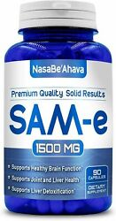 SAM e 1500mg depression aid pain relief NON GMO USA MADE FREE SHIP $27.00