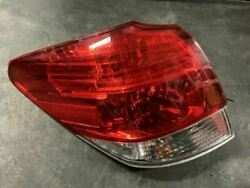 Driver Tail Light Wagon Outback Quarter Panel Mounted Fits 10-14 LEGACY 800670