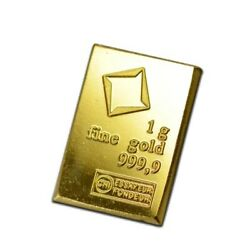 1 Gram Gold Valcambi CombiBar .9999 1 Gram Gold Bar Volume Pricing $74.88