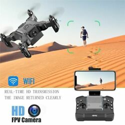 Mini Drone With HD Camera Hight Hold Mode RC Quadcopter RTF WiFi FPV Air Fly Pro $120.99