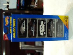 Hot Wheels 5 Car Gift Pack Police Force Brand New Sealed Package wFree Shipping $14.99