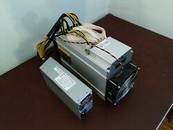 Bitmain Antminer L3+ LTC Litecoin ASIC Scrypt Miner 504 MHs 800W with PSU