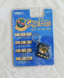Giga Pet Virtual Alien NIB New Sealed Vintage 1997 Virtual Pet Rare Tiger
