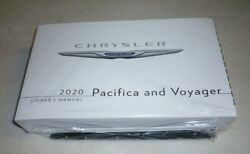 2020 CHRYSLER PACIFICA VOYAGER OWNERS MANUAL guide wcase 20 LX TOURING plus NEW $69.99